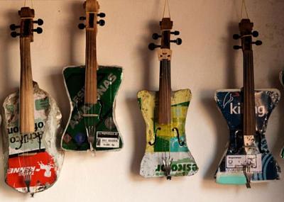 Recycled violins